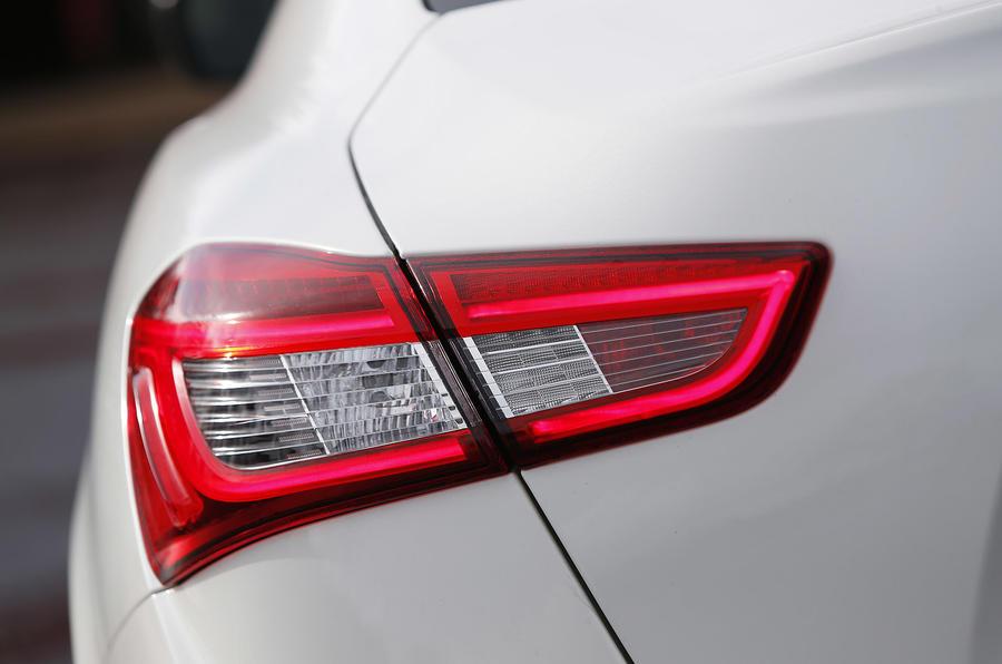 Maserati Ghibli rear lights