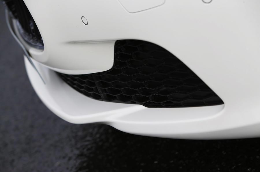Maserati Ghibli front air intakes