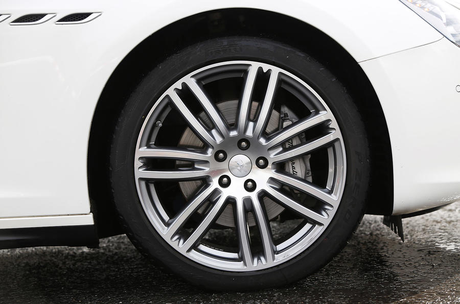 Maserati Ghibli 20in alloy wheels