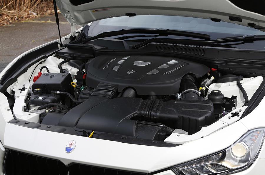 3.0-litre diesel Maserati Ghibli engine