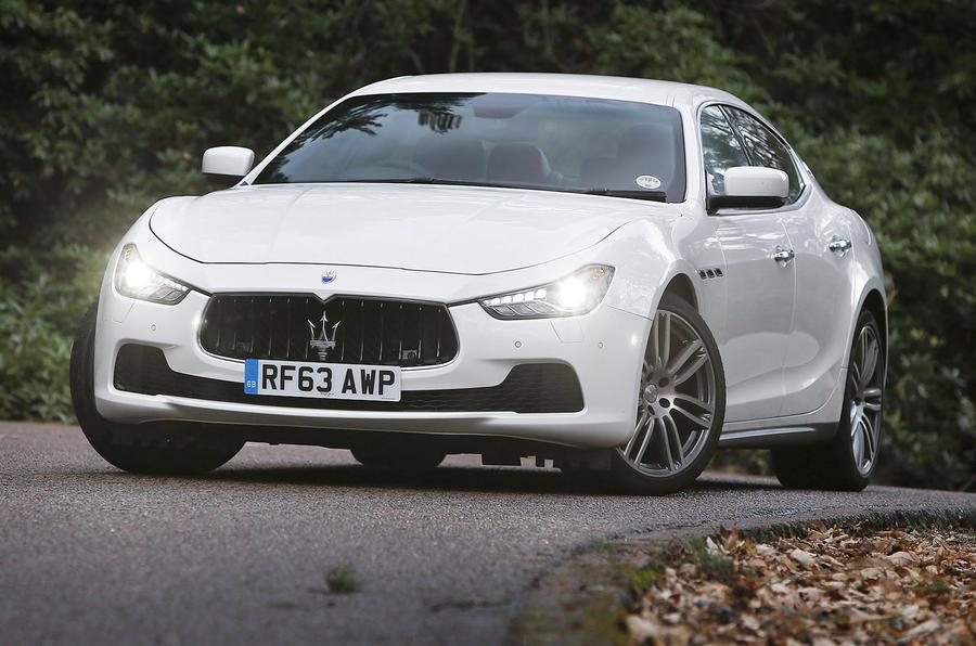 3.5 star Maserati Ghibli