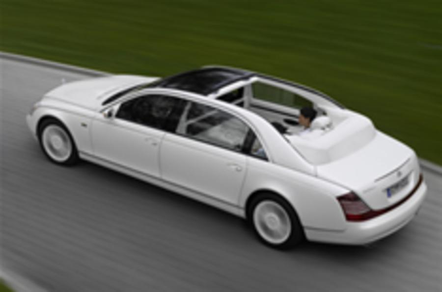 first pictures: maybach 62 landaulet | autocar