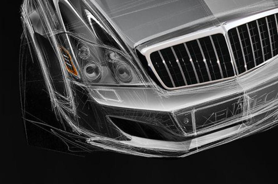 £560k Maybach coupe revealed