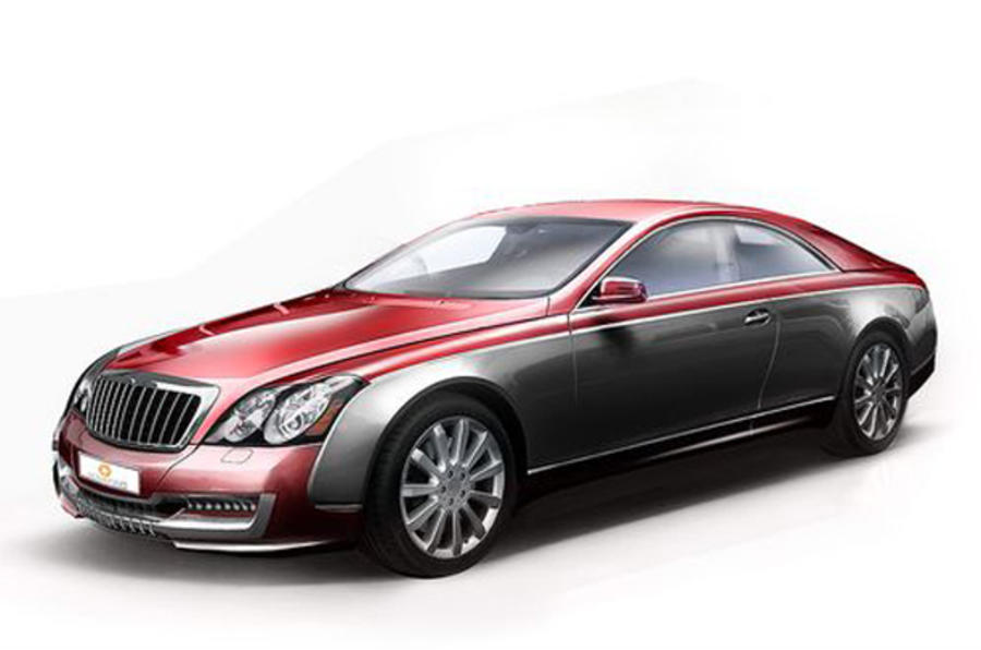 560k maybach coupe revealed autocar. Black Bedroom Furniture Sets. Home Design Ideas