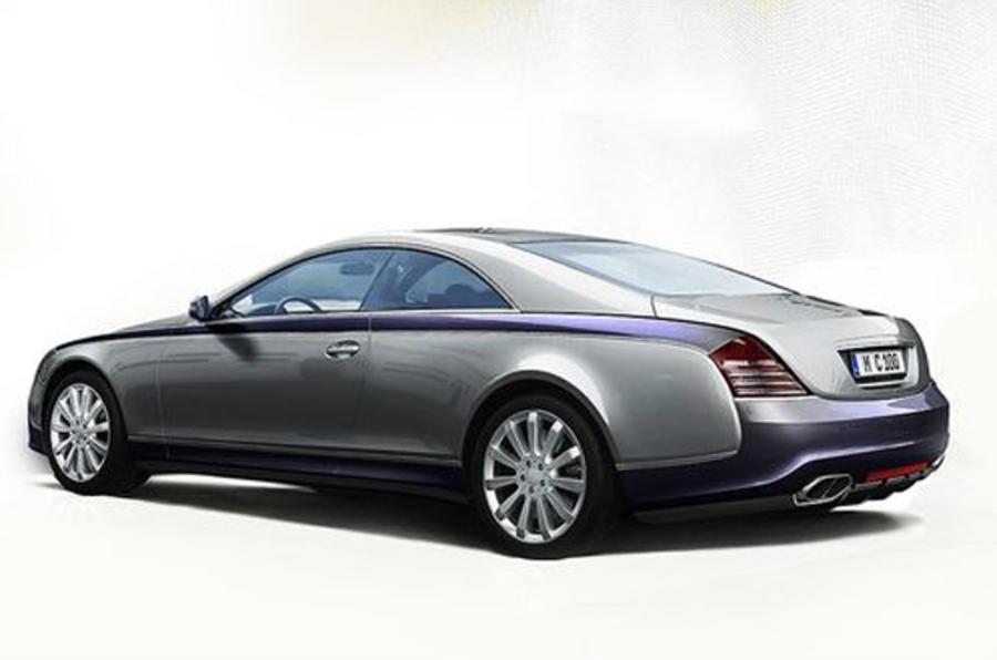 £560k Maybach coupe revealed