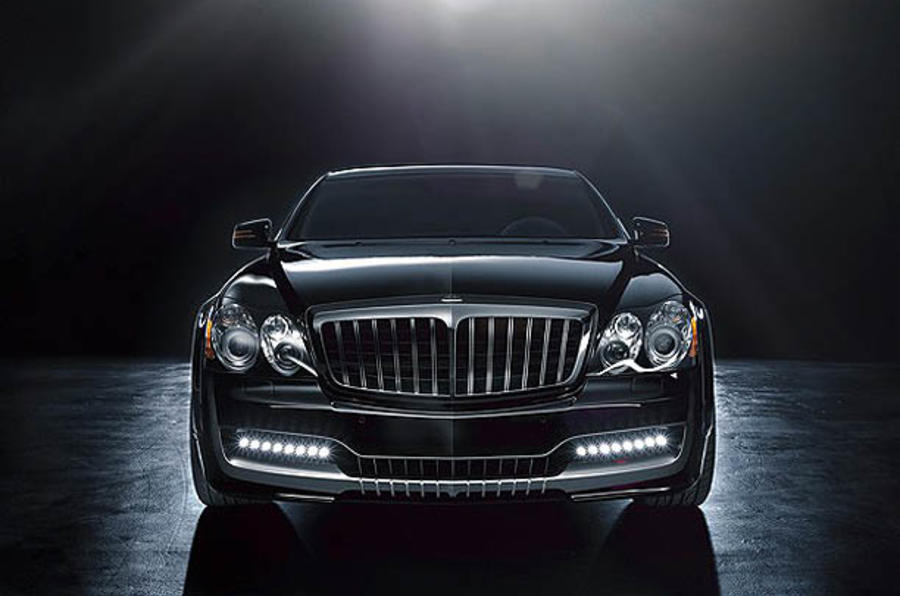 Maybach coupe revealed
