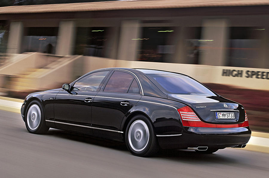 Maybach 57 rear quarter