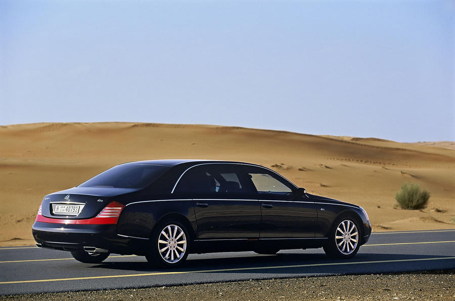 Maybach 62 rear