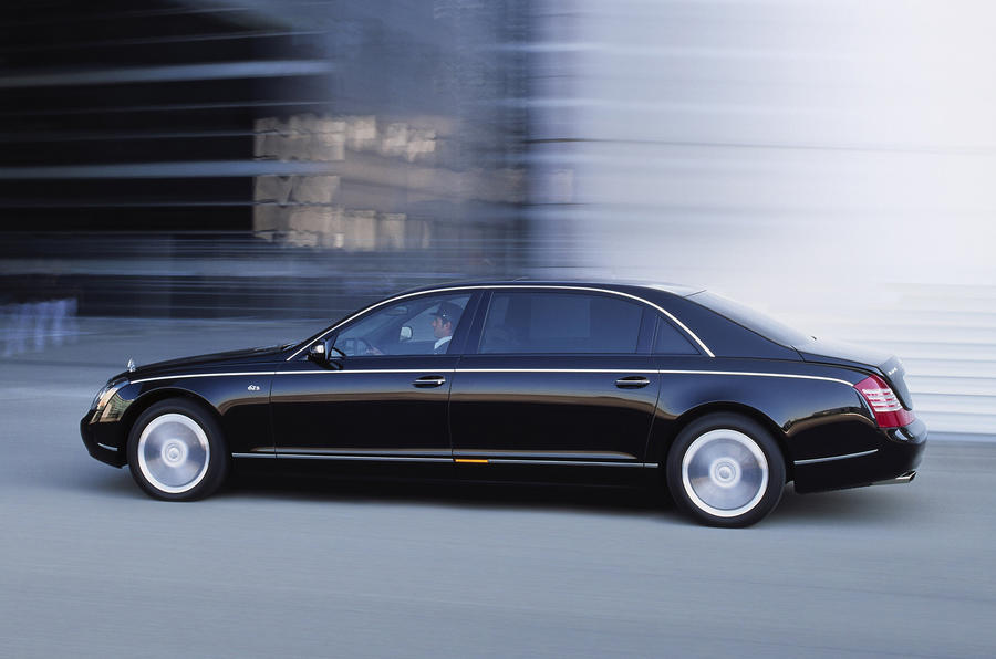 Maybach 62 side profile