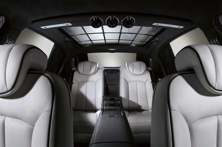 Maybach 62 interior