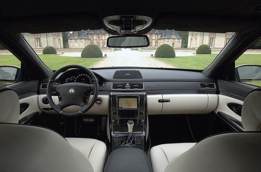 Maybach 62 front interior