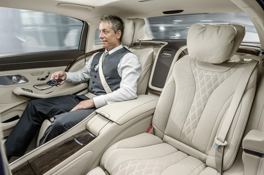mercedes revives maybach name for super luxury s class exclusive pics