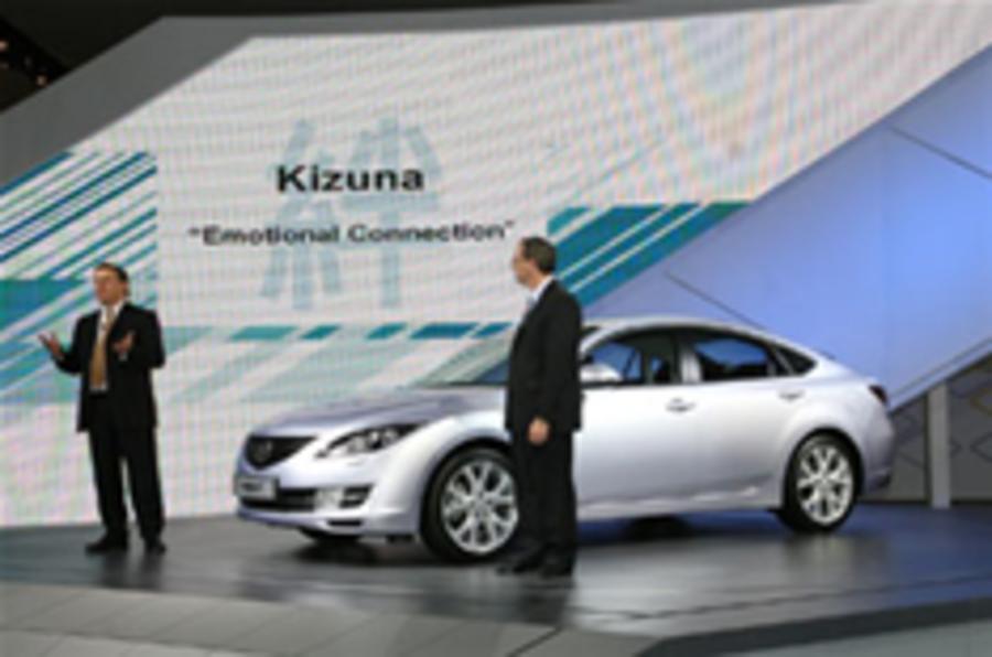 Frankfurt show: Mazda 6