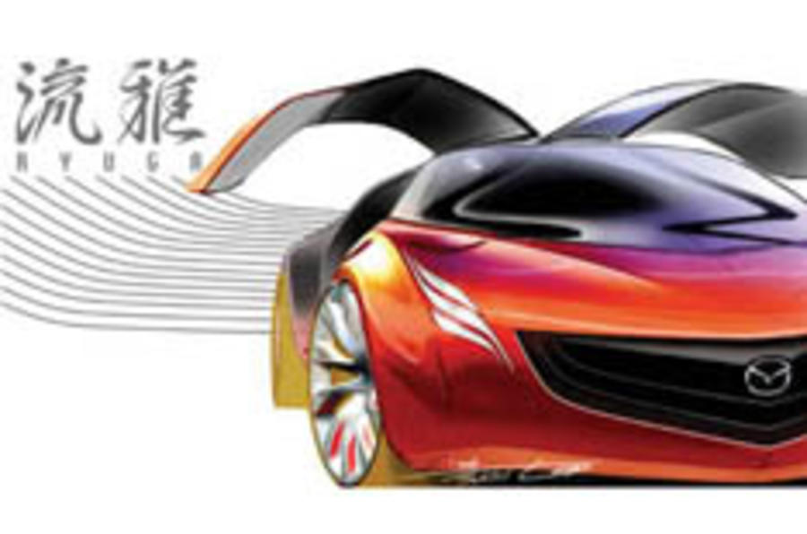 Mazda moves upmarket with Ryuga