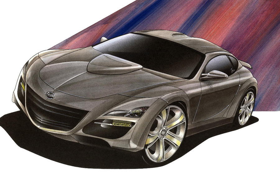Next Mazda RX-7 stays rotary