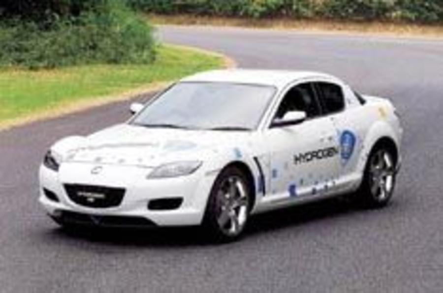 Mazda RX-8 gets hydrogen power