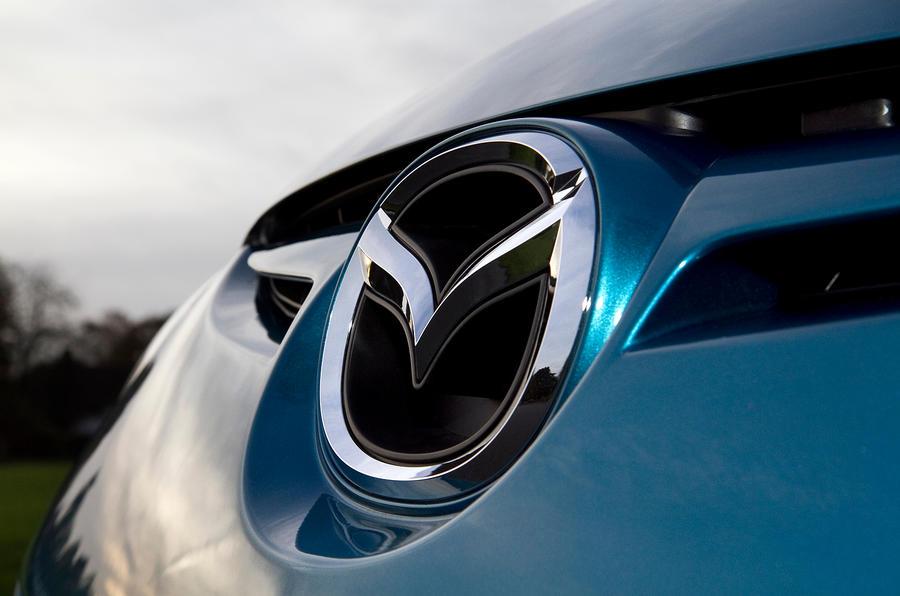Mazda badging