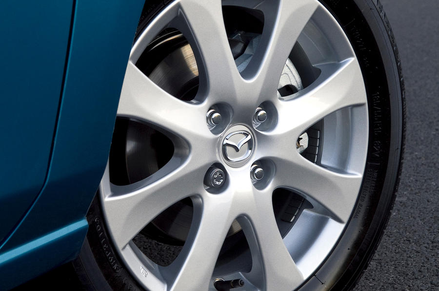 16in Mazda 2 alloy wheels