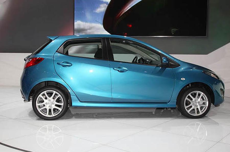 Paris motor show: upgraded Mazda 2
