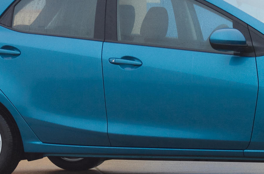 Mazda 2 front doors
