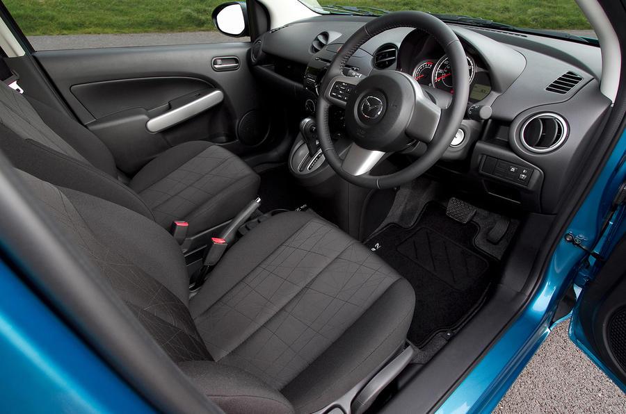 Mazda 2 front seats