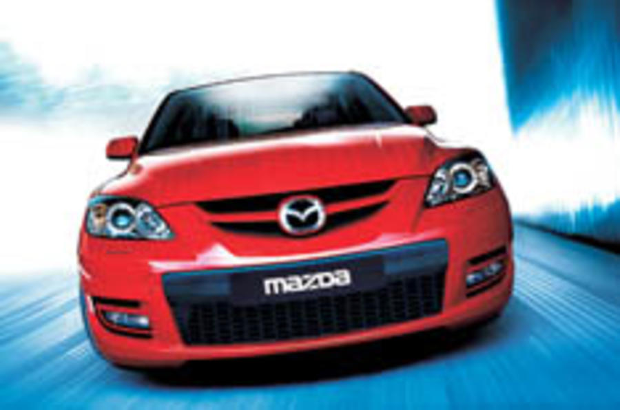 Mazda unleashes hot 3 MPS
