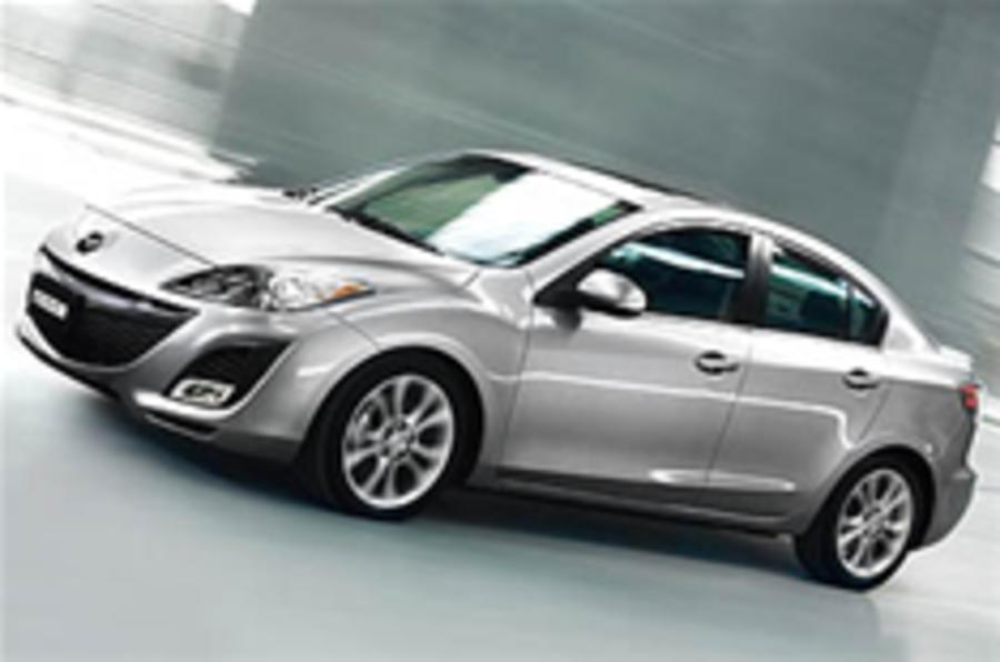 LA Show: Mazda 3 saloon