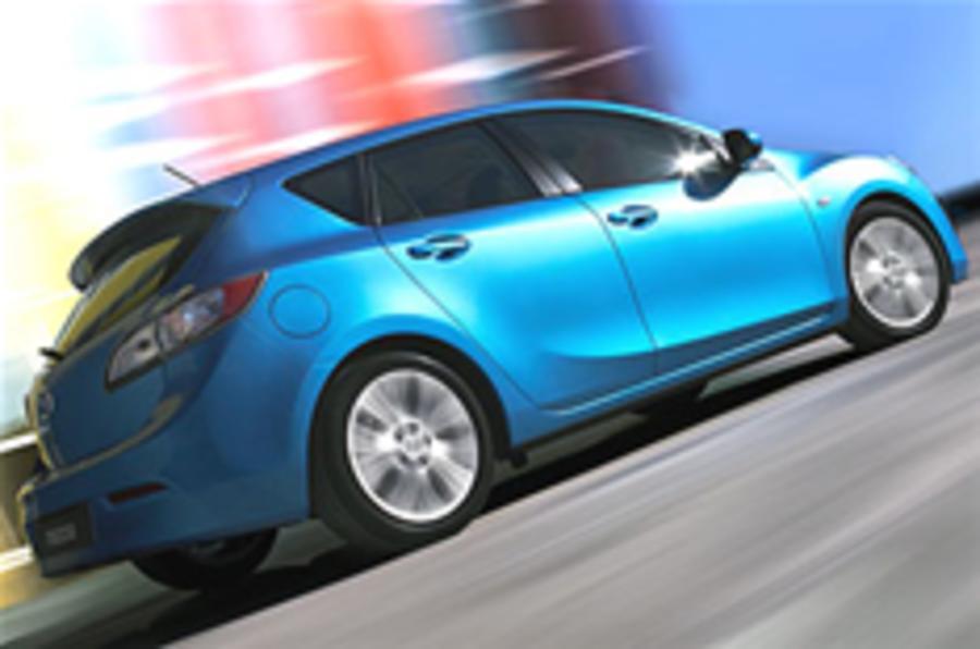 Official details: Mazda 3 hatch