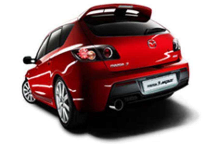 Mazda lets slip shot of 'sportier' 3 MPS
