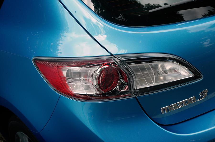 Mazda 3 rear lights
