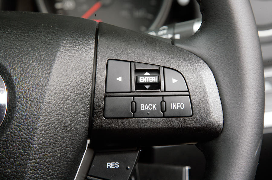 Mazda 3 steering wheel buttons