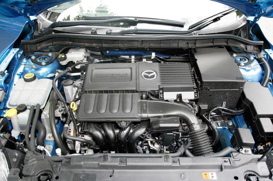 1.6-litre Mazda 3 petrol engine