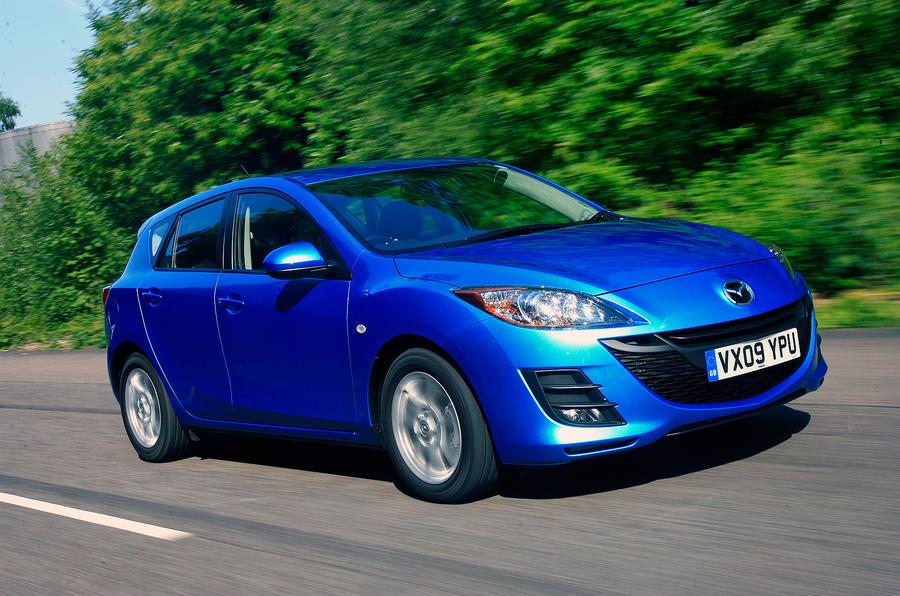 Mazda 3 front quarter