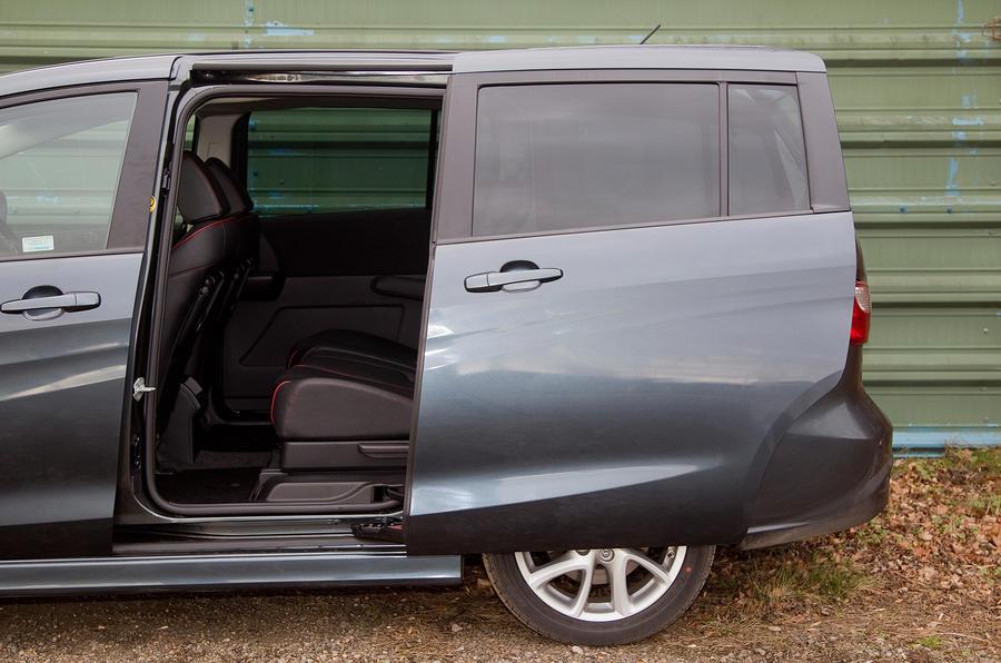 Mazda 5 sliding doors