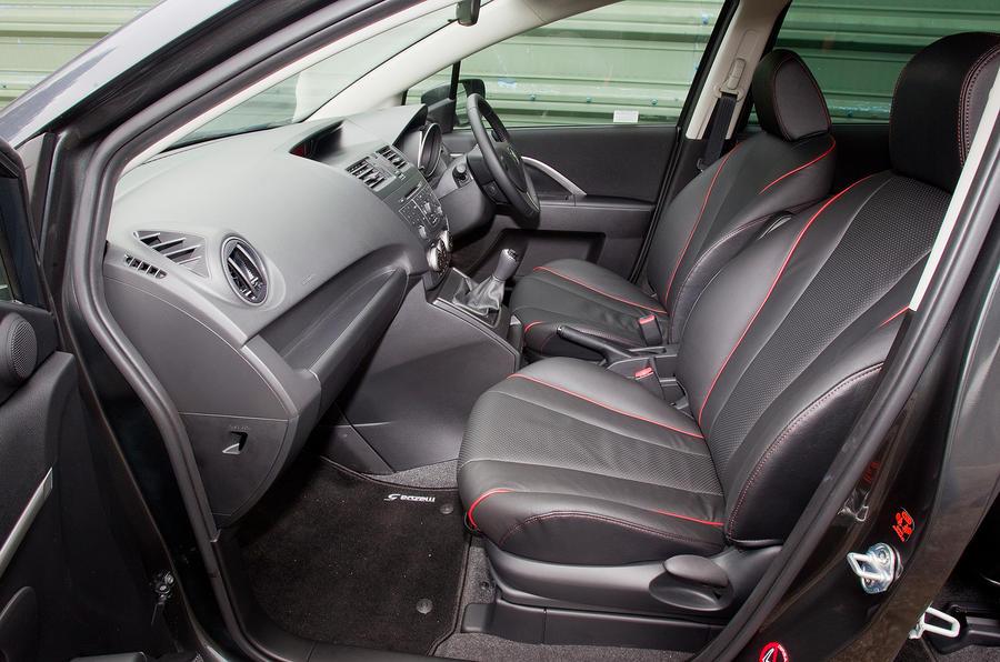 Mazda 5 front seats