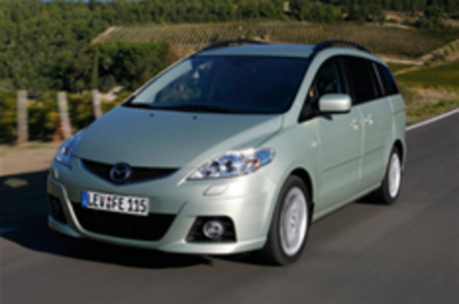 Mazda 5 grows soft in middle age