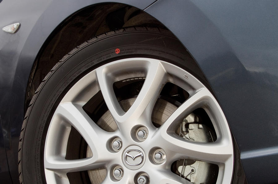 Mazda 5 alloy wheels