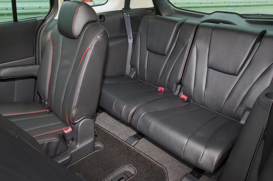 Mazda 5 third row seats