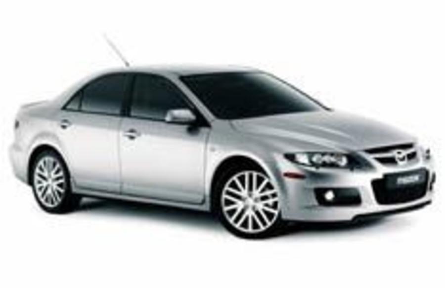 Mazda unveils super 6