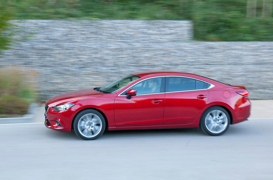 Mazda 6 Saloon side profile