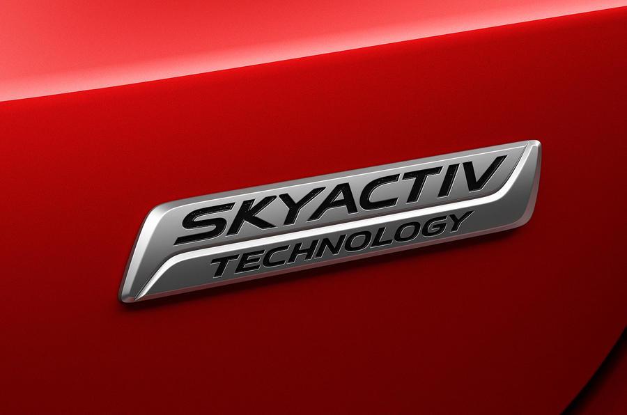 Mazda 6 Skyactiv badging