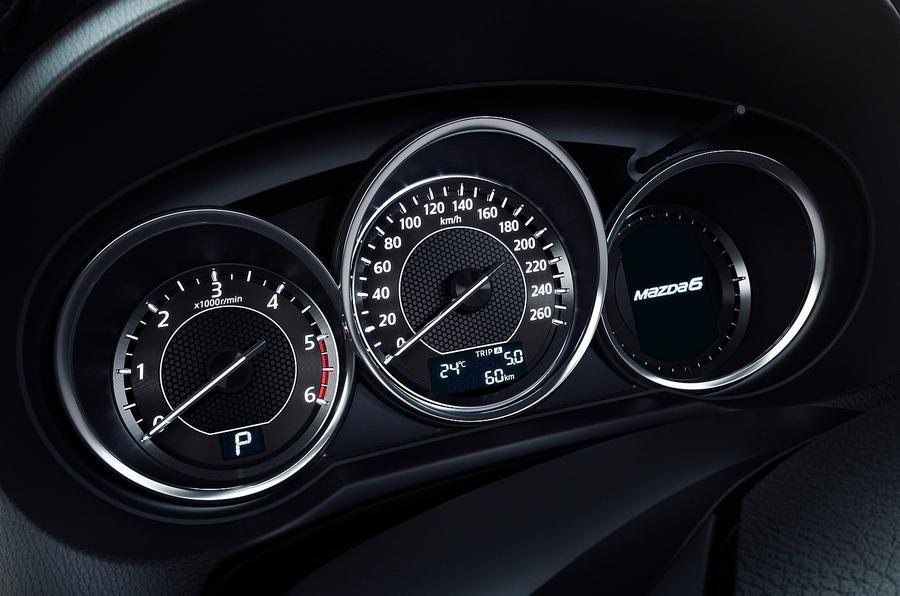 Mazda 6 instrument cluster