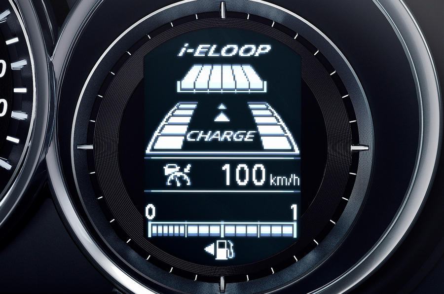 Mazda 6 information screen