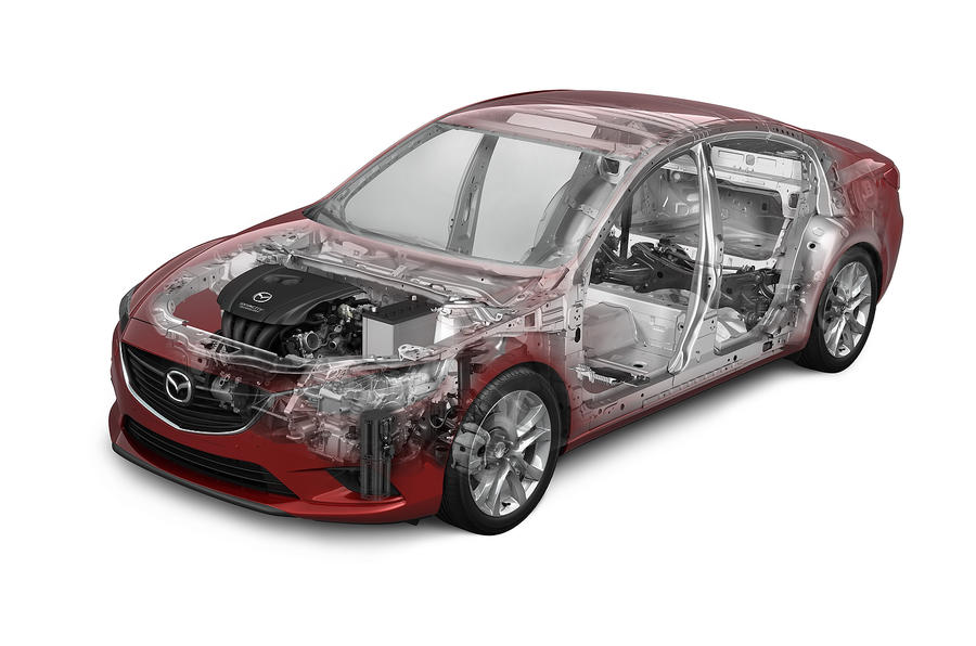 Mazda 6 Saloon structural
