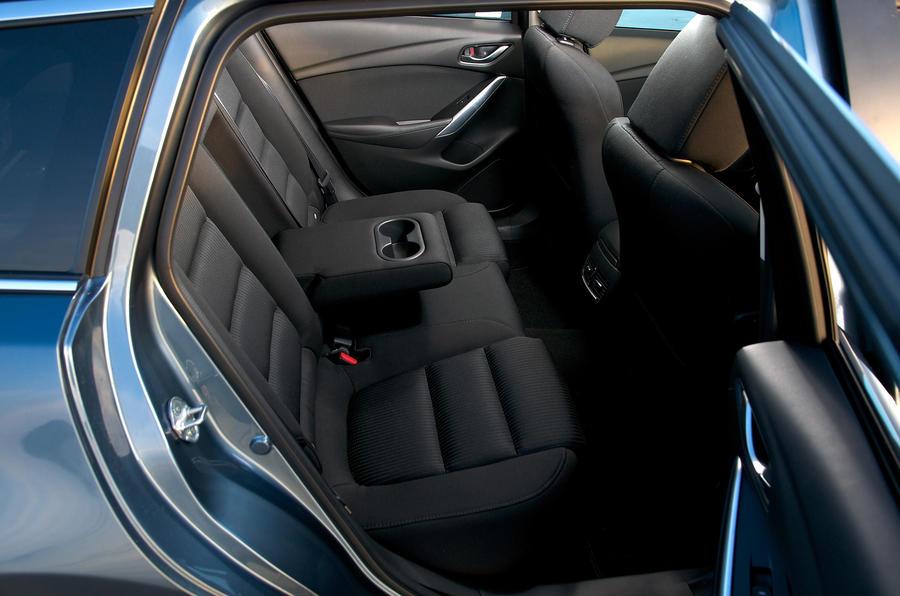 Mazda 6 estate rear seats