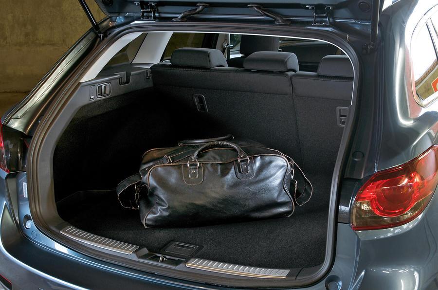 Mazda 6 estate boot space