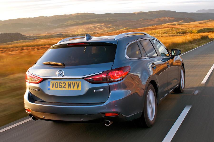 Mazda 6 Tourer rear end