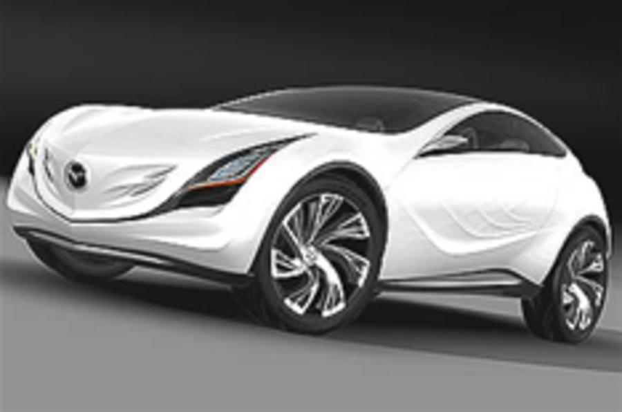 Mazda concept for Moscow