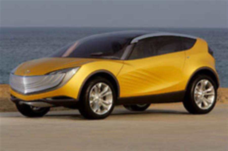 Mazda's crossover concept