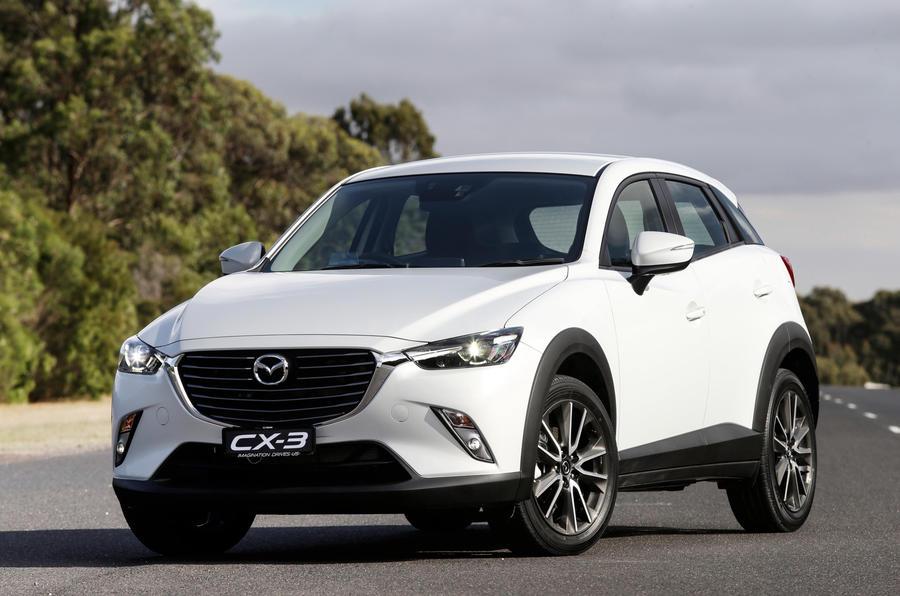 Mazda cx 3 reviews 2015